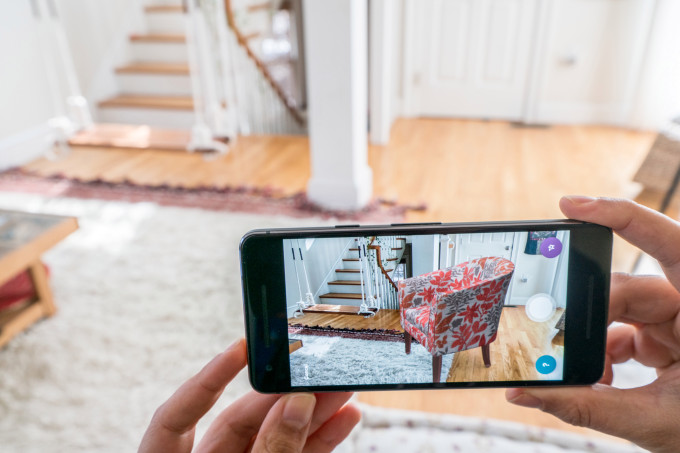 Image result for wayfair ar app